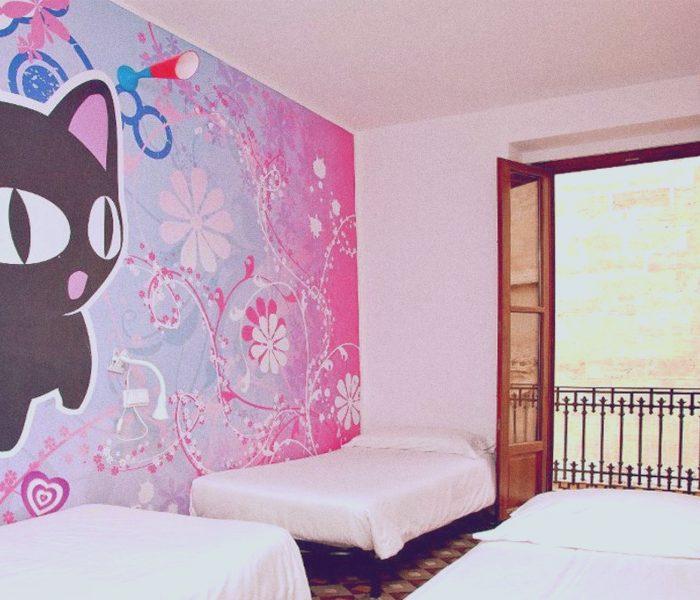 3 beds mix dorms